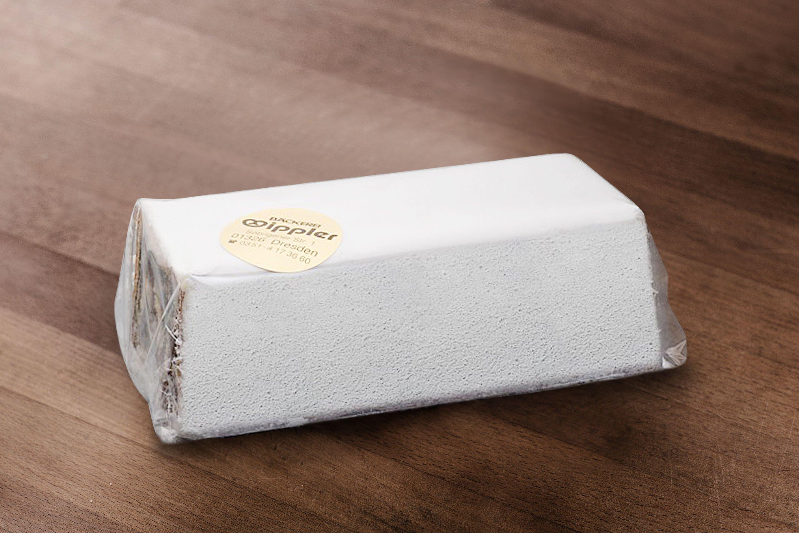 Wipplers Butter-Mohnstollen 500g