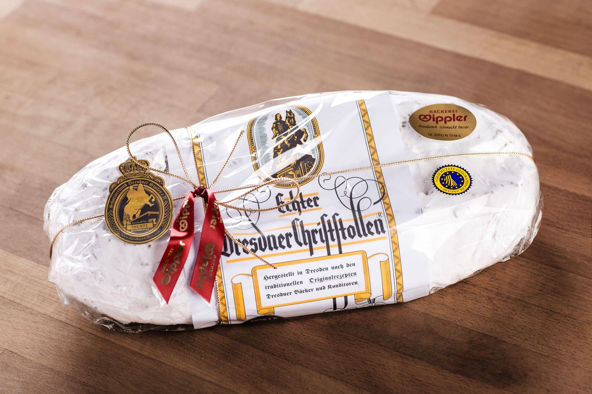 Wipplers Dresdner Christstollen 2 kg