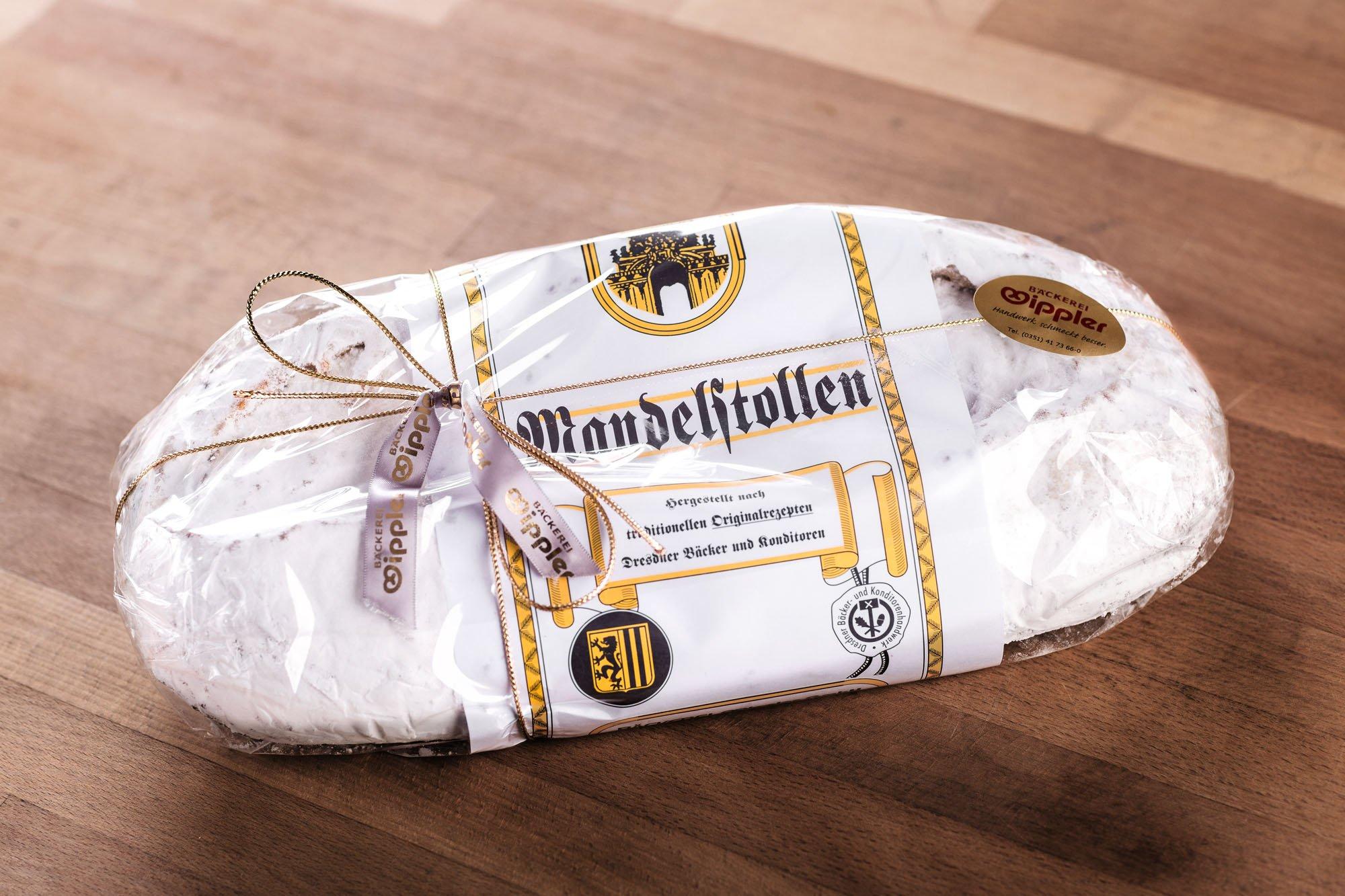 Wipplers Mandelstollen 1,5 kg